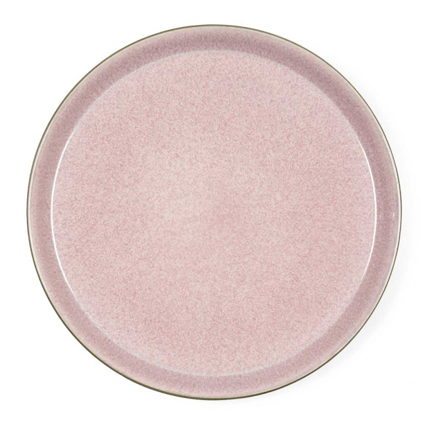 Bitz Gastro Tallerken Grå/lyserød 27 cm.