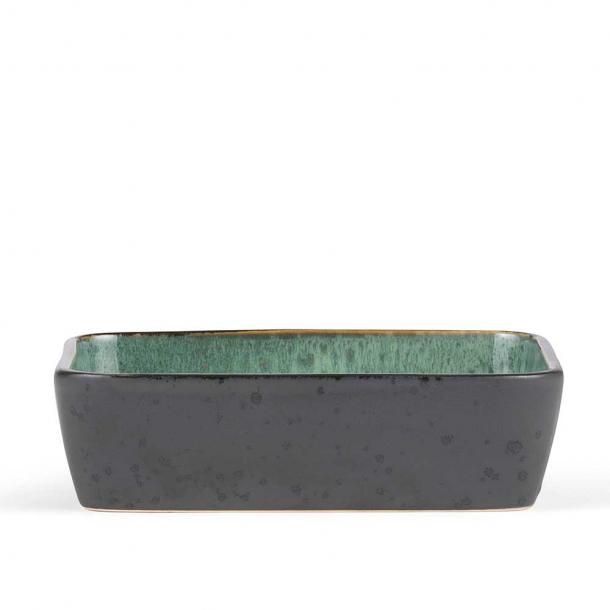 Bitz Fad Sort/mørkegrøn 33x21x7,5 cm.