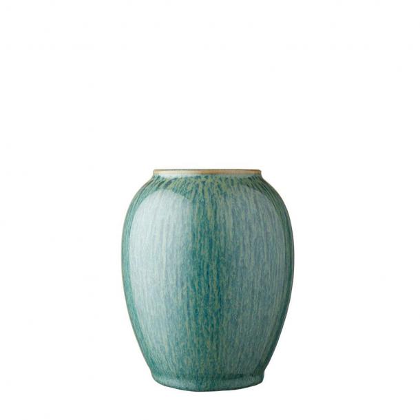 Bitz Vase Grøn H12,5 cm.