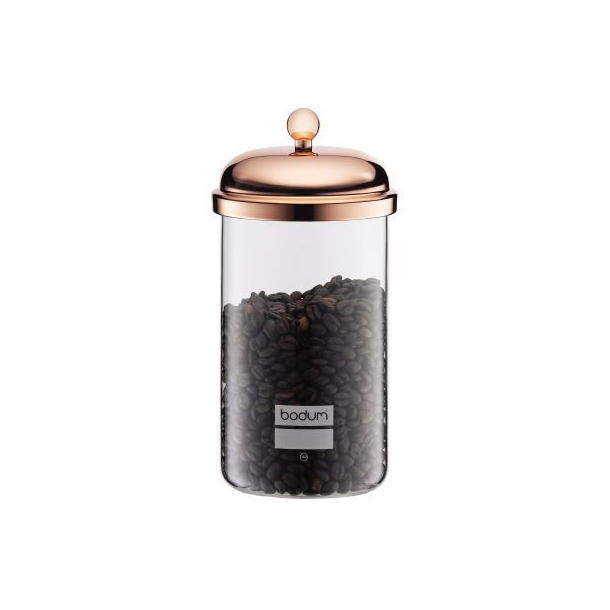 Bodum Classic Opbevaringsglas Kobber 1,0 liter