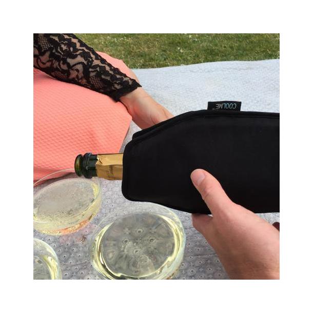 COOLME Flaskekøler Black