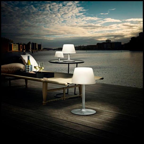 Eva Solo Solcellelampe SunLight Lounge Stor - Inkl. USB Lader