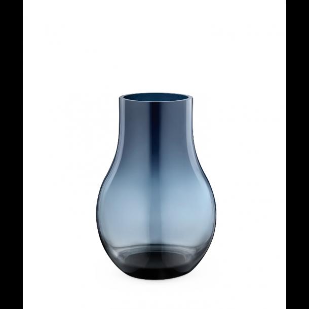 Georg Jensen Cafu Vase Blå H21,6 cm.
