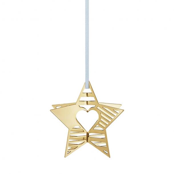 Georg Jensen Ornament Stjerne 2019 Guld