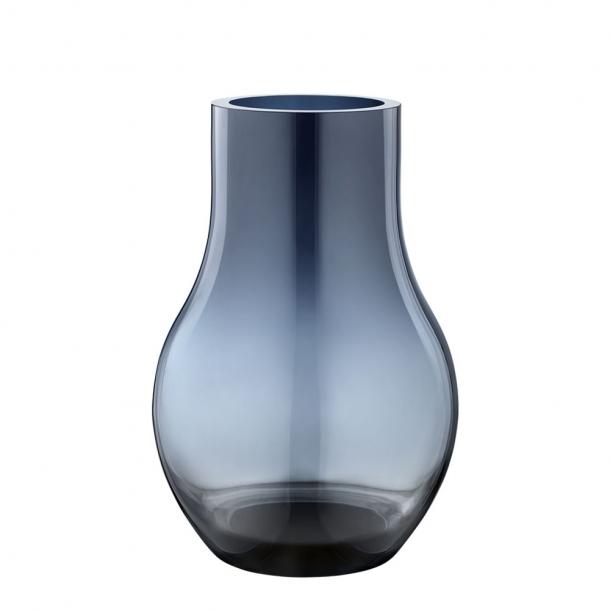 Georg Jensen Cafu Vase Blå H30 cm.
