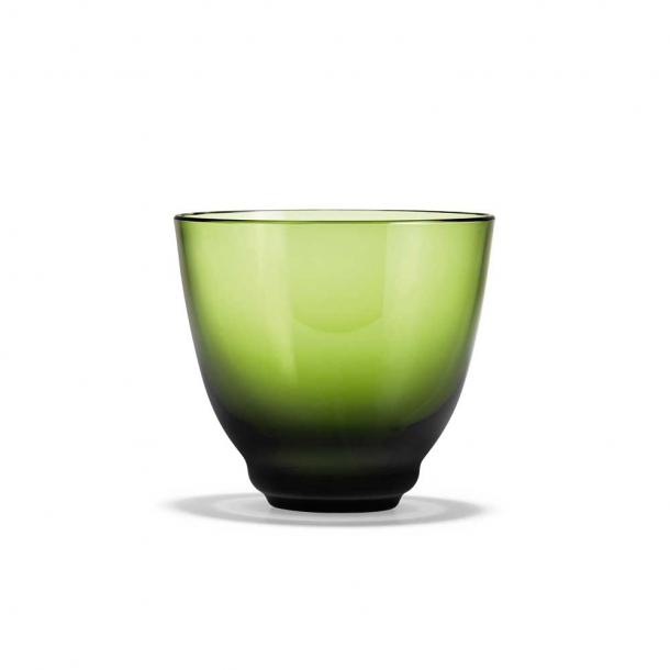 Holmegaard Flow Vandglas Olivengrøn 35 cl