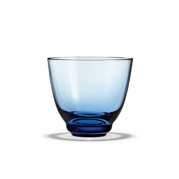 Holmegaard Flow Vandglas Blå 35 cl