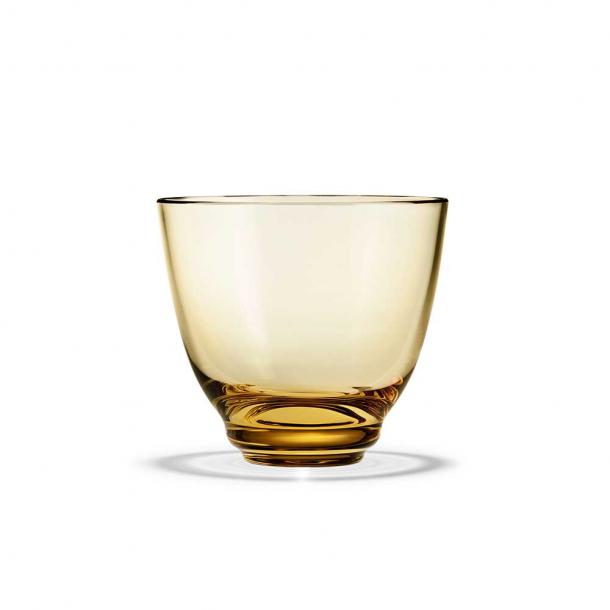 Holmegaard Flow Vandglas Amber 35 cl