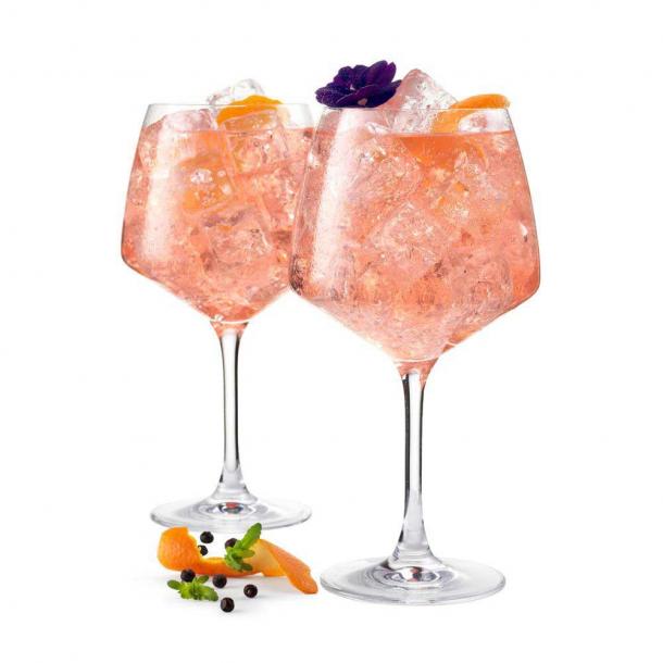 Holmegaard Perfection Gin Glas Klar 90 cl. 2 stk.