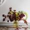 Holmegaard Primula Vase Amber 25,5 cm