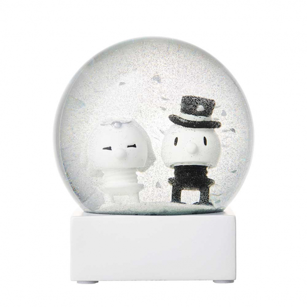 Hoptimist Wedding Glitter Globe