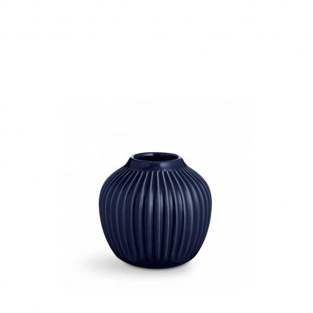 Kähler Hammershøi Indigo Vase H12,5 cm.