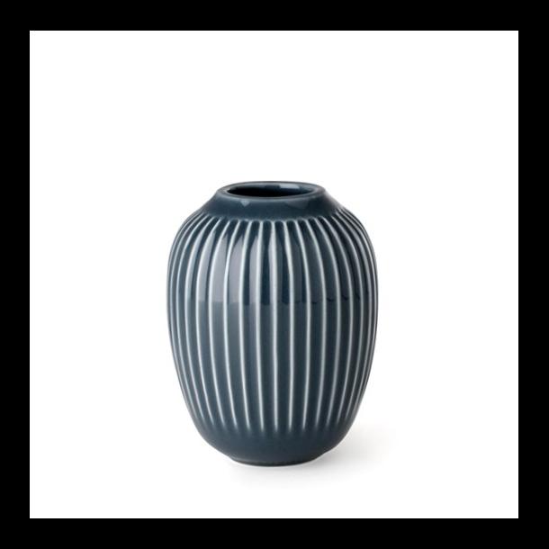Kähler Hammershøi Vase 10 cm. Antracitgrå