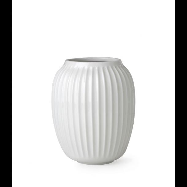 Kähler Hammershøi Vase 20 cm. Hvid