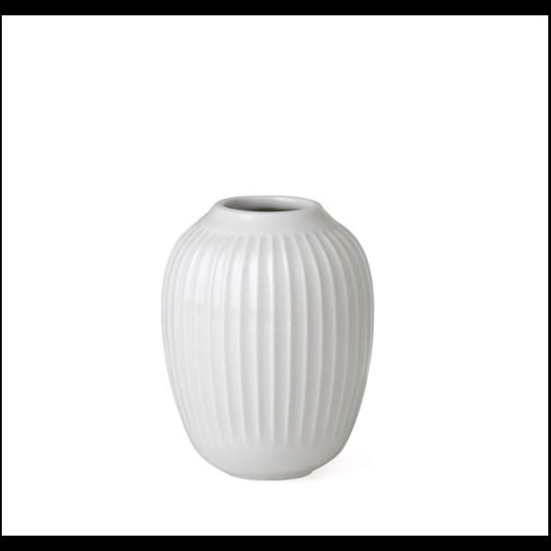 Kähler Hammershøi Vase 10 cm. Hvid