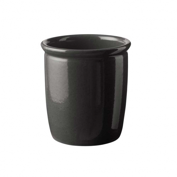 Knabstrup Keramik Syltekrukke Antracitgrå 2 L