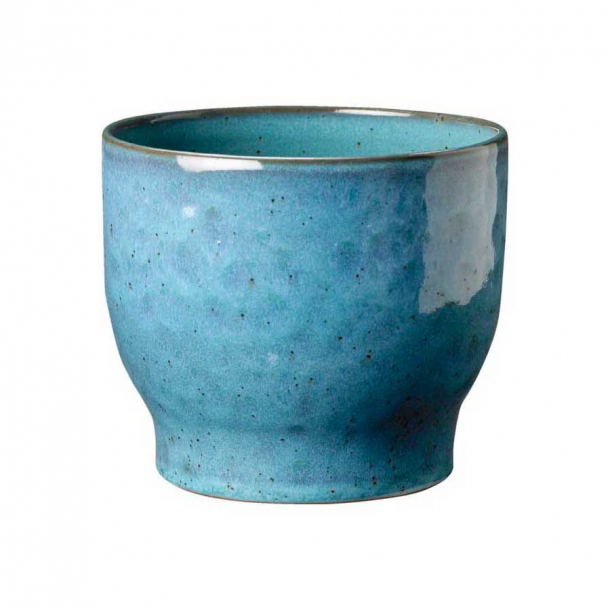 Knabstrup Keramik Urtepotteskjuler Støvet Blå Ø: 14,5 cm