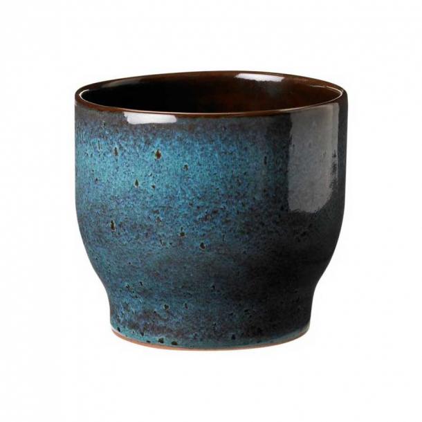Knabstrup Keramik Urtepotteskjuler Havgrøn Ø: 14,5 cm