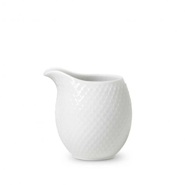 Lyngby Porcelæn Rhombe Mælkekande Hvid 39 cl