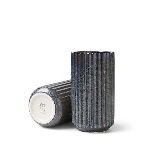 Lyngby Porcelæn Radiance Vase Blå Keramik 15 cm