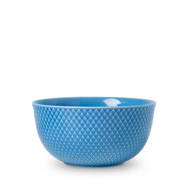 Lyngby Porcelæn Rhombe Color Skål Blå 17,5 cm