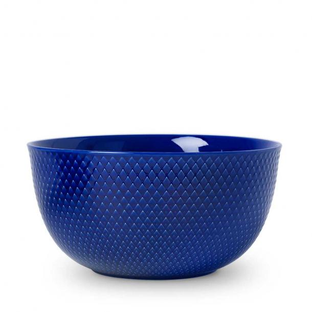 Lyngby Porcelæn Rhombe Color Skål Mørkeblå 22 cm