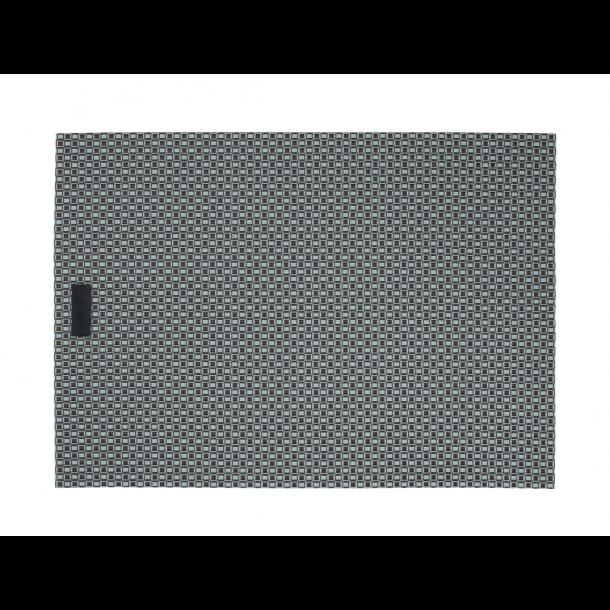 Ørskov Lounge Dækkeserviet 35 X 48 cm - Brun/Turkis