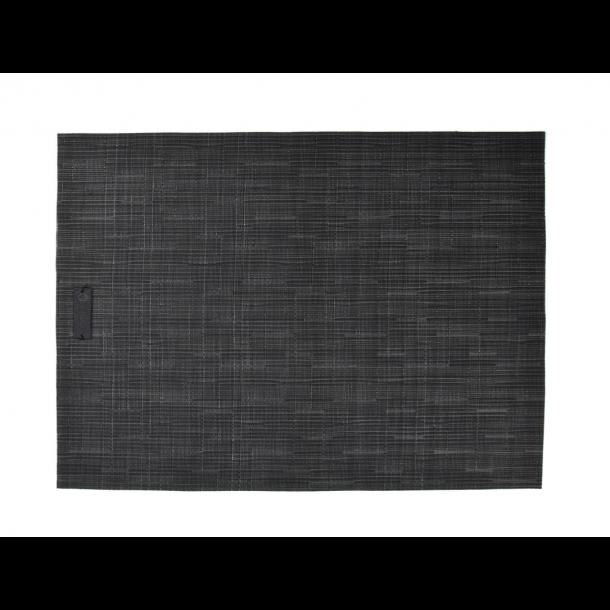 Ørskov Lounge Dækkeserviet 35 X 48 cm - Sort, Vævet