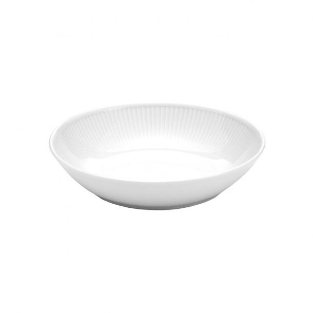 Pillivuyt Plissé Salat/pastatallerken Ø20 cm.