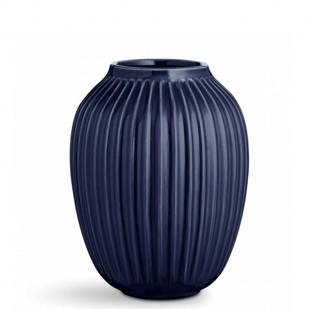 Kähler Hammershøi Indigo Vase H25 cm.