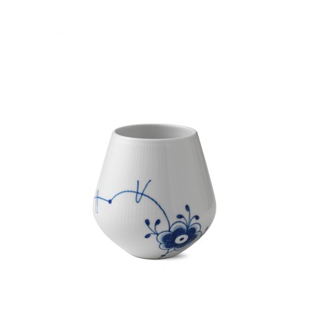 Royal Copenhagen Blå Mega Vase Mellem 15 cm.