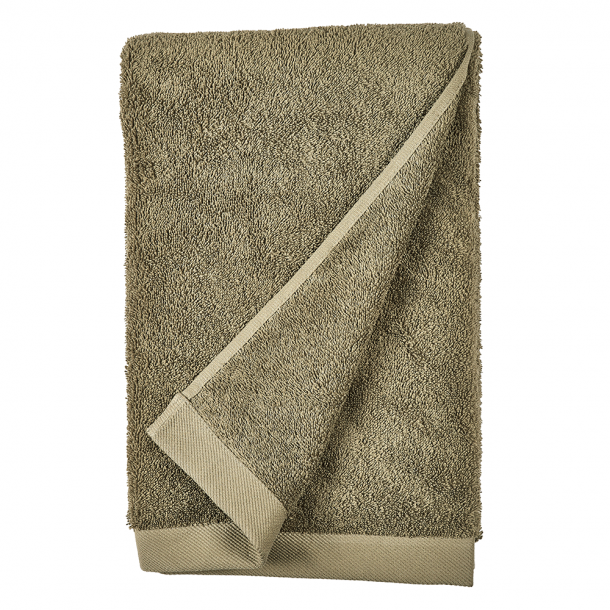 Södahl Comfort Organic Håndklæde Khaki 70 x 140 cm