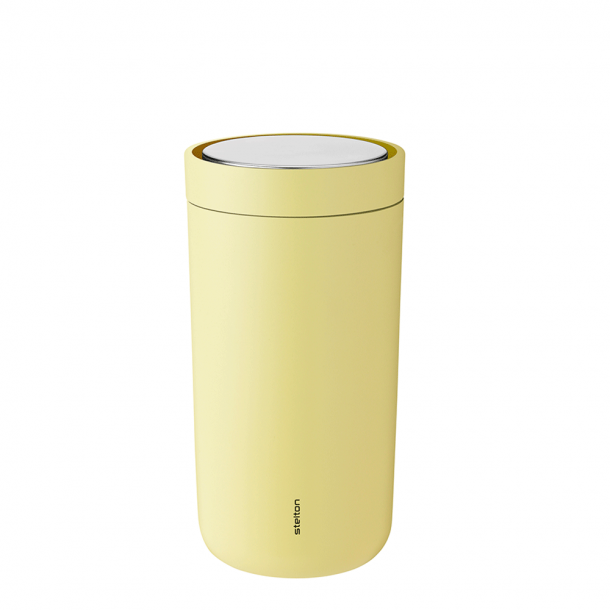 Stelton i:cons To Go Click Krus 0,2 l Yellow