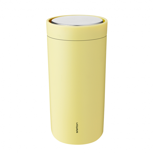 Stelton i:cons To Go Click Krus Yellow 0.4 l.