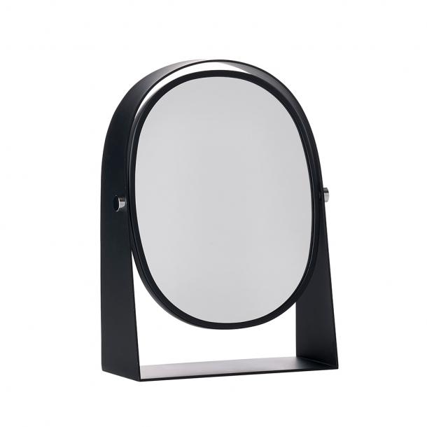 Zone Bordspejl 3 x forstørrelse Sort