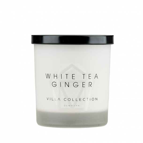 Villa Collection Duftlys White Tea Ginger Hvid